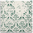 rug #1095946 | square green traditional rug
