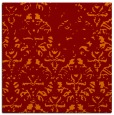 rug #1096014 | square red-orange faded rug