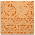 rug #1096082 | square red-orange faded rug
