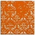 rug #1096090 | square red-orange faded rug