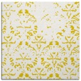 rug #1096134 | square yellow traditional rug