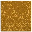 rug #1096138 | square yellow rug