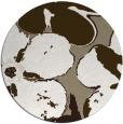 rug #109641 | round beige natural rug