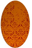 rug #1096434 | oval red traditional rug