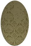 rug #1096526 | oval damask rug