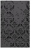 rug #1096554 |  black damask rug