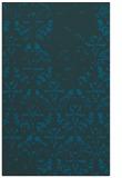 rug #1096614 |  blue damask rug