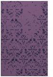 rug #1096646 |  blue-violet rug