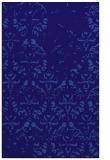 rug #1096650 |  blue-violet damask rug