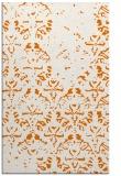 rug #1096754    orange damask rug