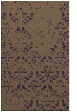 rug #1096790 |  purple traditional rug