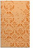 rug #1096818 |  red-orange damask rug