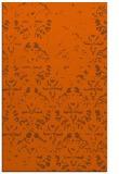 rug #1096822    red-orange faded rug