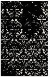 rug #1096834 |  white damask rug