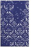 rug #1096842 |  blue damask rug