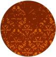 rug #1096917 | round damask rug