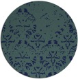 rug #1096954 | round blue faded rug