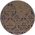 rug #1097022   round beige damask rug