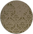 rug #1097030 | round mid-brown popular rug