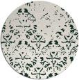 rug #1097052 | round damask rug