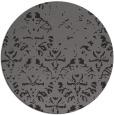 rug #1097068   round damask rug