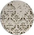 rug #1097072 | round faded rug