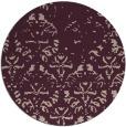 rug #1097078 | round pink rug