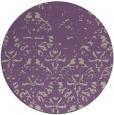 rug #1097098 | round beige damask rug