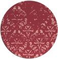 rug #1097143 | round faded rug