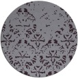 rug #1097162 | round purple traditional rug
