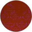rug #1097181 | round faded rug