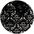 rug #1097202 | round white faded rug