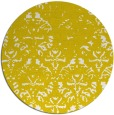rug #1097206 | round white faded rug