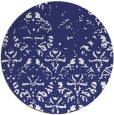 rug #1097210 | round blue faded rug