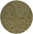 rug #1097262 | round light-green damask rug