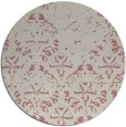 rug #1097270   round pink traditional rug