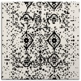 rug #1097654 | square white faded rug