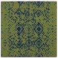 rug #1097694 | square green rug