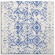 rug #1097698 | square blue faded rug