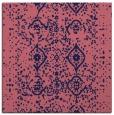 rug #1097746 | square pink damask rug
