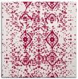 rug #1097770 | square red damask rug
