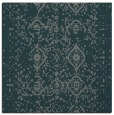 rug #1097782 | square blue-green traditional rug