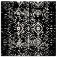 rug #1097794 | square black damask rug