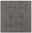 rug #1097802 | square mid-brown faded rug