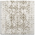 rug #1097810 | square mid-brown faded rug