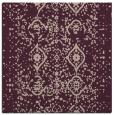 rug #1097814 | square pink damask rug