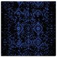 rug #1097850   square black damask rug