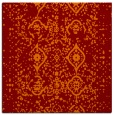 rug #1097854 | square red-orange faded rug