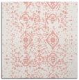 rug #1097882 | square white damask rug