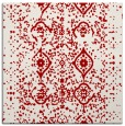 rug #1097902 | square red traditional rug
